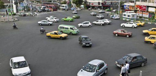 اصول موضوعه رانندگی در ایران